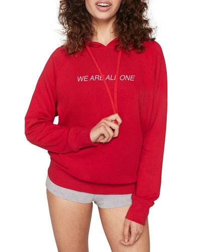 Lotus Classic 'We Are All One' Raglan Hoodie Sweatshirt