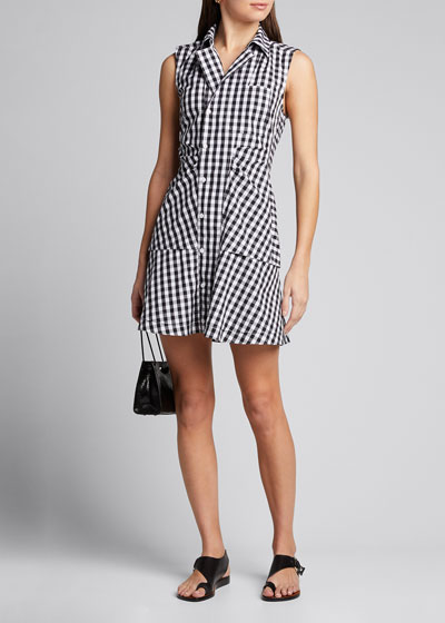 Satina Sleeveless Shirtdress
