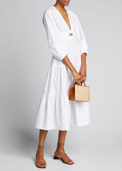 Talulah Plunging Midi Dress