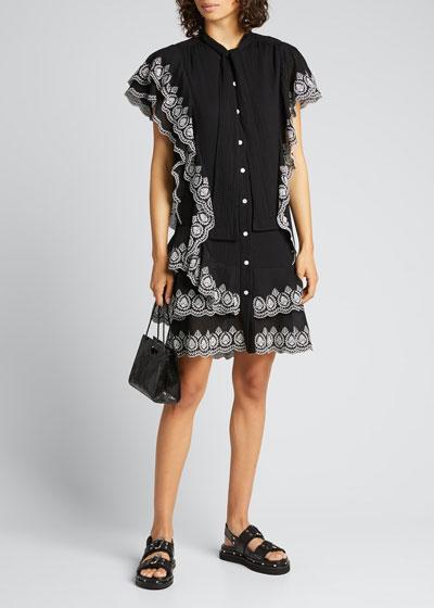 Kalia Cascade Dress