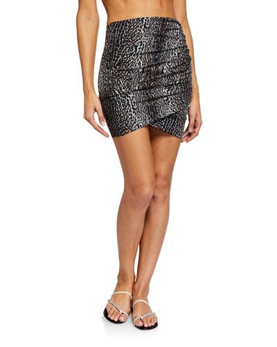 Ebby Printed Coverup Skirt