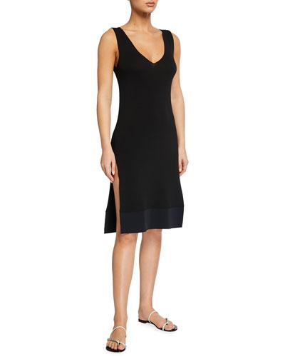 Magdala Side-Slit Coverup Dress