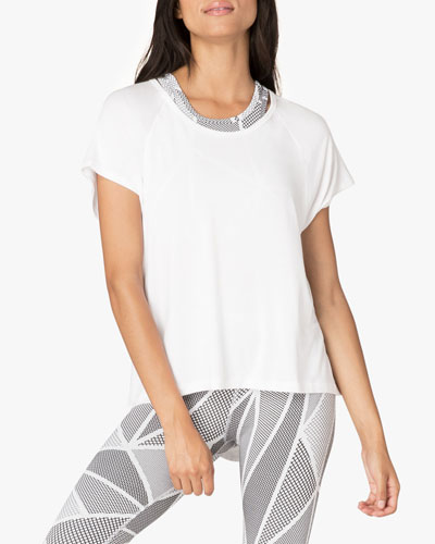 Slink Out Loud High-Low Tee