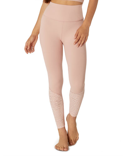 Back Me Up High-Waist Midi Leggings
