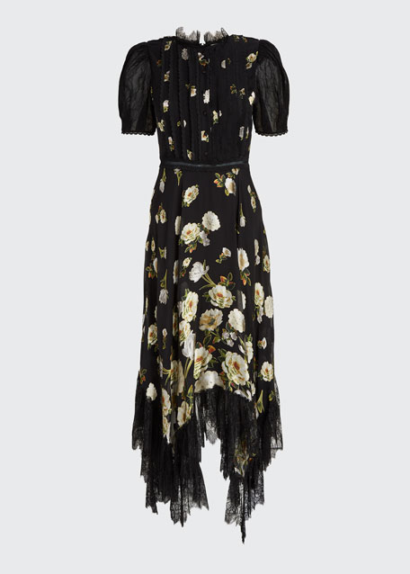 Bettina Floral Handkerchief Dress