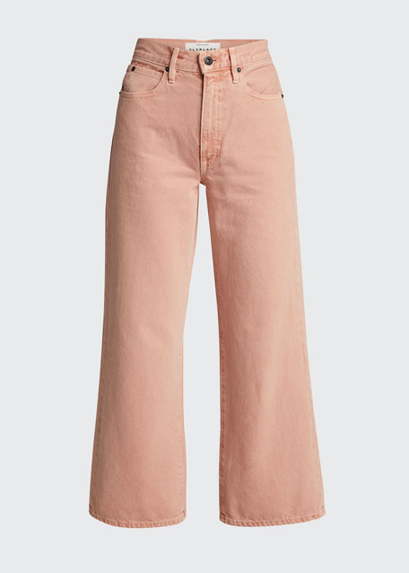 Grace Flared Mid-Rise Jeans