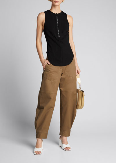 Myriam Twill Sculpted Pants