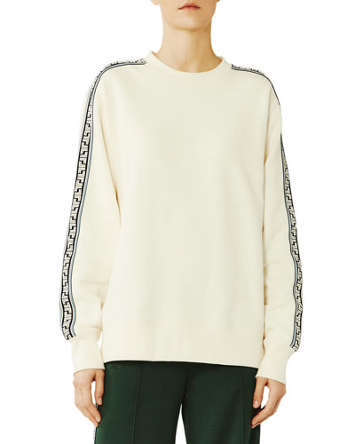 French Terry Geo T Sweatshirt