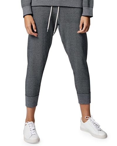 Alice Pique Knit Sweatpants