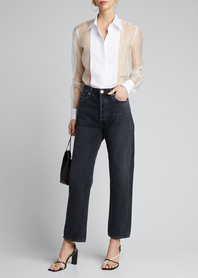 The Relaxed Straight Jeans