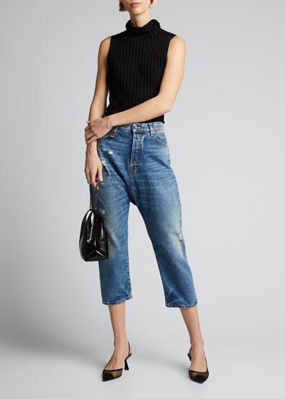 Tailored Drop Jean