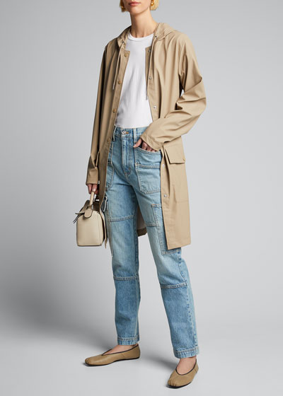 Belted Jacket with Large Pockets