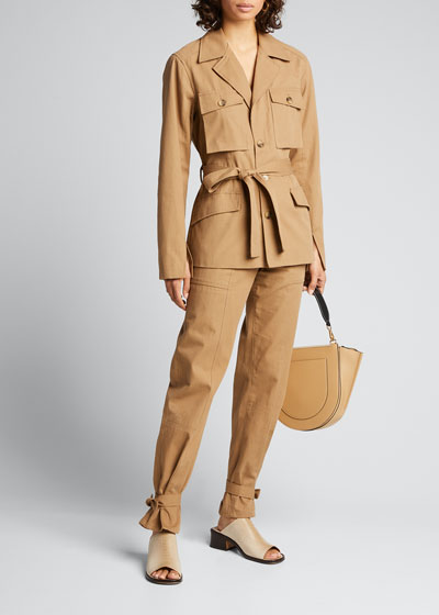 Darcy Cinched Ankle Trousers