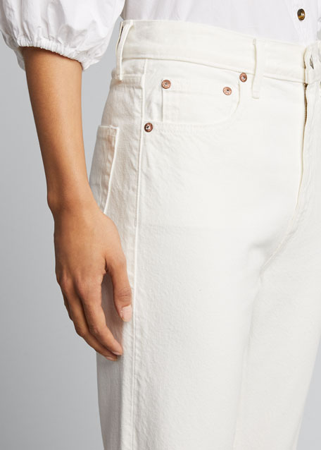 Kai High-Rise Cigarette Jeans