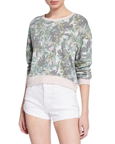 Palms Crop Sweatshirt