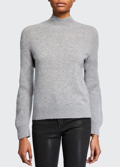 Image 1 of 1: Logan Cashmere Turtleneck Sweater