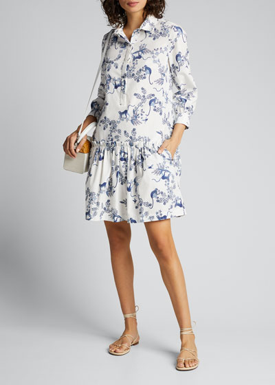 Tilly Printed Shirtdress