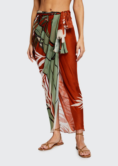 Wrap in the Salt Printed Pareo