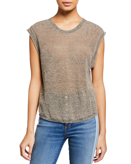 Image 1 of 1: Farah Sleeveless Pullover Sweater