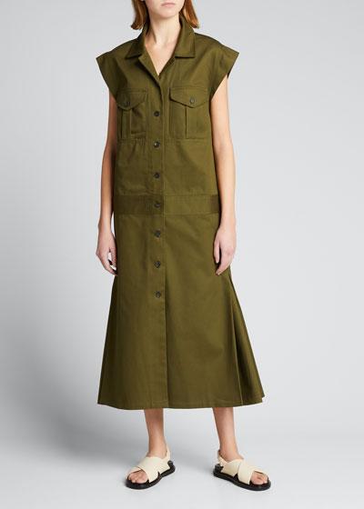 Pelham Organic Cotton Utilitarian Dress