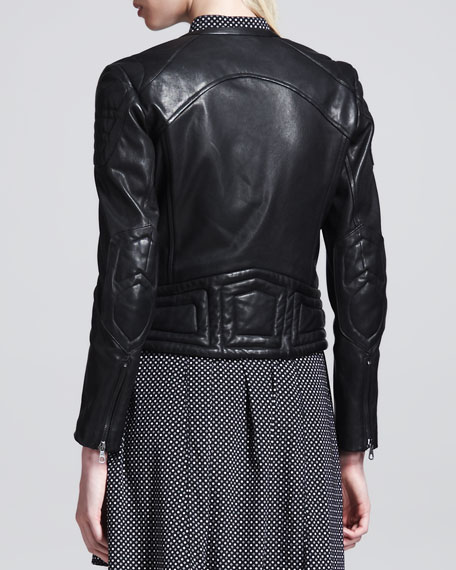Clare Leather Motorcycle Jacket
