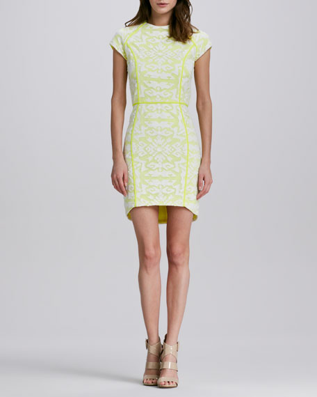 Aletta Neon Lace Dress