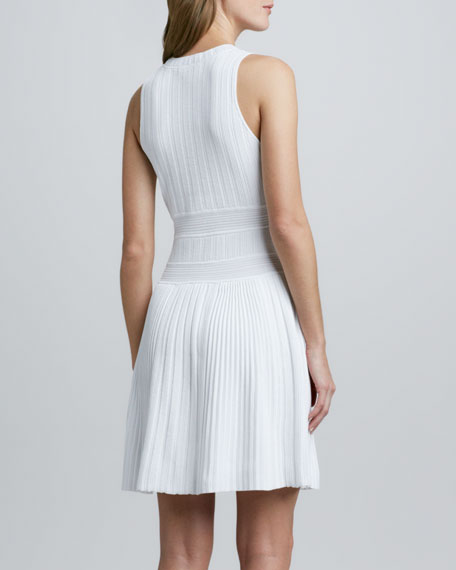 Chloh Ribbed Knit Dress