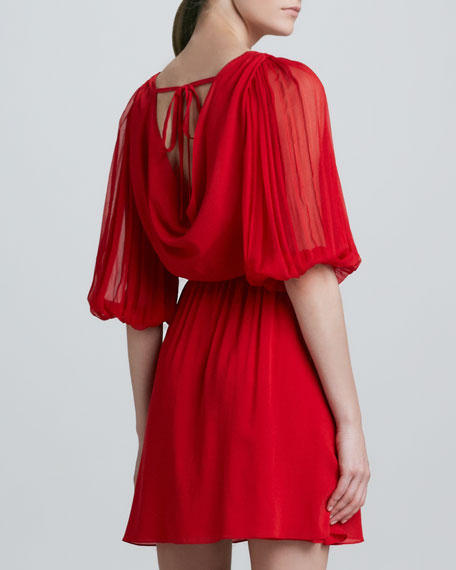 Brielle Bell-Sleeve Dress