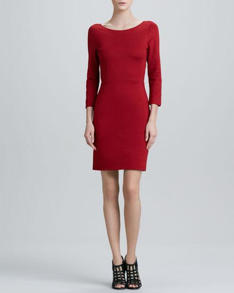 Caro 3/4-Sleeve Dress