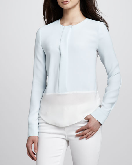 Sonia Two-Tone Blouse