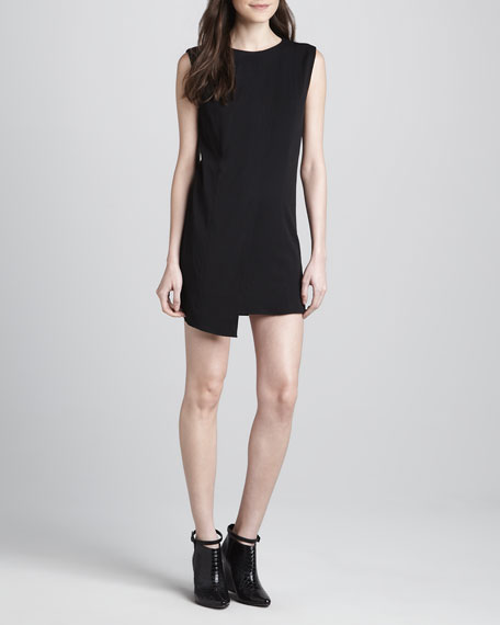 Dwato Asymmetric Crepe Dress