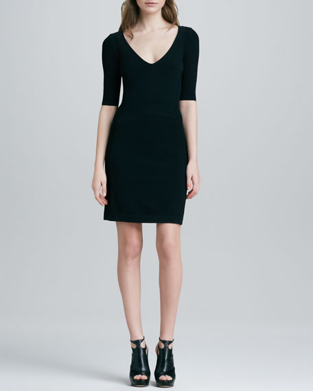 Julialynn Fitted Ponte Dress