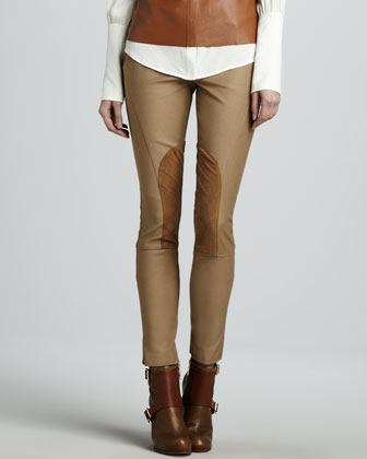 Julietta Cropped Riding Pants