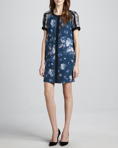 Ellie Floral-Print Dress