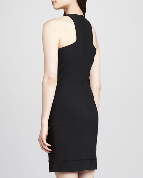 Claire Sleeveless Asymmetric Dress