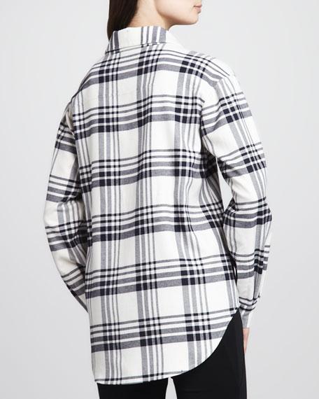 Pam Plaid Button-Down Shirt