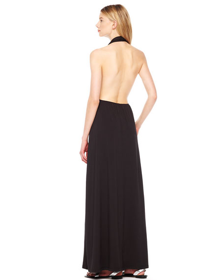 Jersey Maxi Coverup