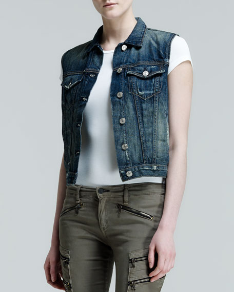 Burney Mender Denim Vest