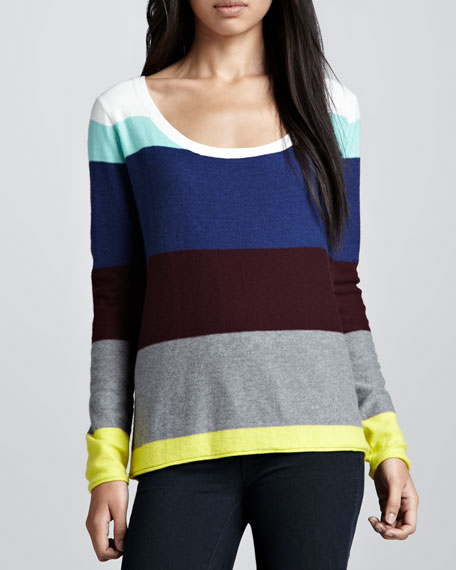 Brighton Striped Sweater, Multi