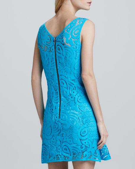 Mambo Paisley-Lace Dress