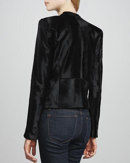 Montagu Calf-Hair Jacket