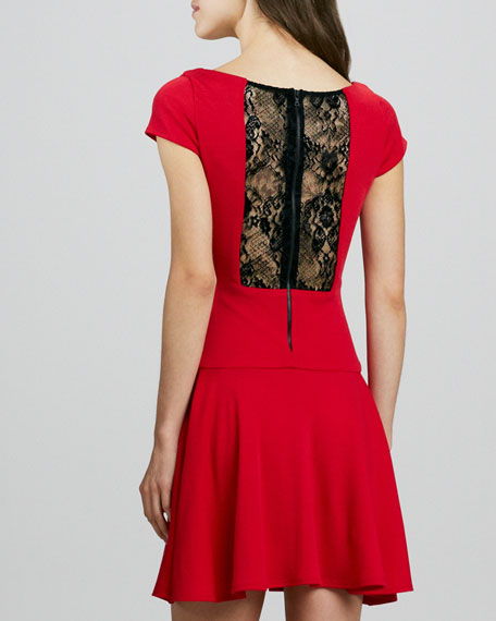 Rylie Lace-Back Dress