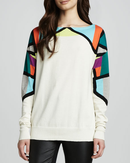 Fire Eater Bright-Top Sweater