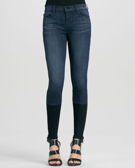 Snowbird Knit-Cuff Skinny Photo Ready Jeans