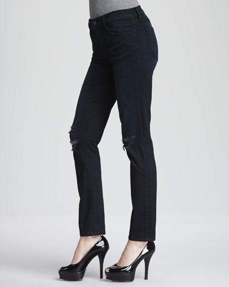 Super Skinny Distressed Jeans
