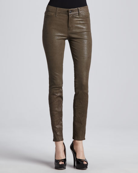 Leather Skinny Pants, Iron