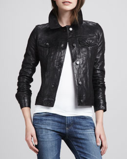 J Brand Jeans Classic Leather Jacket