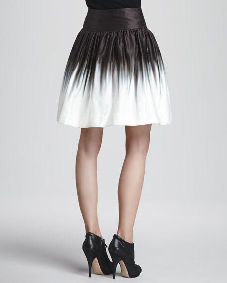 Karina Ombre Gathered Skirt