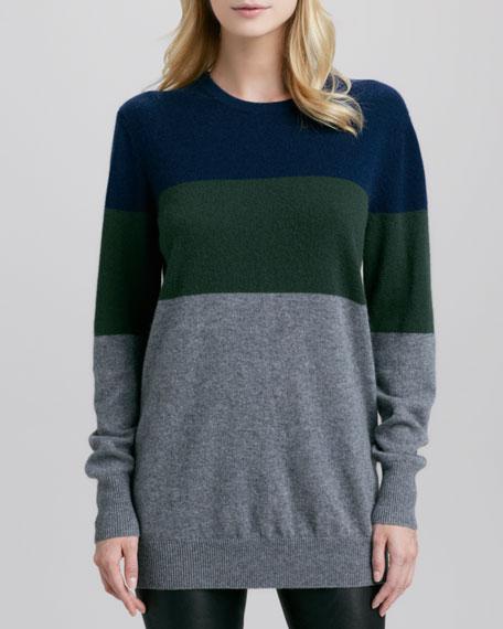 Rei Colorblock Cashmere Sweater