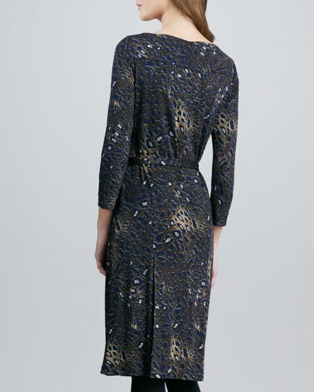Three-Quarter Sleeve Denise Dress